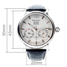 Load image into Gallery viewer, Seagull Full Calendar Grande Date Guilloche Automatic Watch 819.315 - seagull-watches