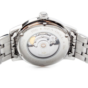 Seagull Guilloche Self-wind Automatic Business Watch D816.405 - seagull-watches