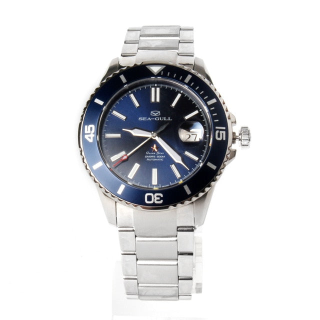 Seagull Ocean Star Mechanical Diving Swimming Sport Watch 816.523 - seagull-watches