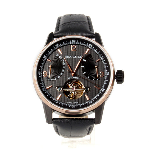 Seagull Retrograde Date Power Reserve Mechanical Watch 219.327 - seagull-watches