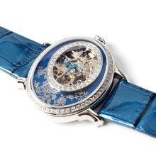 Load image into Gallery viewer, Seagull Classic Oval Shape Elegant Rhinestones Mechanical Watch 739.758L - seagull-watches