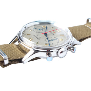 Seagull 1963 Mechanical Chronograph Watch Re-issued Edition FKJB - seagull-watches