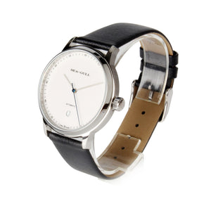 Seagull 10mm Thin White Dial Automatic Dress Watch 819.17.5038 - seagull-watches