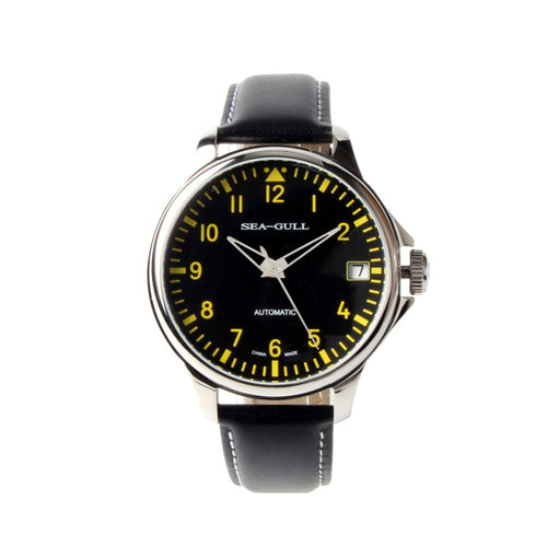 Seagull Automatic Chinese Big Pilot Commander Watch D819.552 - seagull-watches