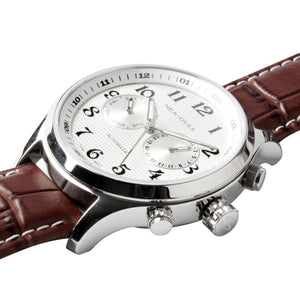 Seagull Dual Time Zone GMT Guilloche Automatic Watch 819.13.5114 - seagull-watches