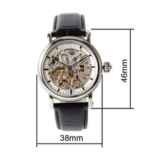 Load image into Gallery viewer, Seagull Double Skeleton Automatic Self Wind Watch M182SK - seagull-watches