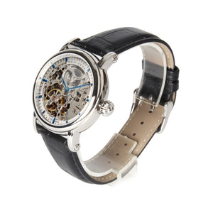 Seagull Double Skeleton M182SK Blue Hand Automatic Watch - seagull-watches