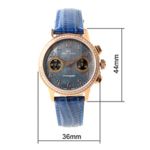 Load image into Gallery viewer, Seagull Rhinestones Chronograph Watch 719.754L - seagull-watches