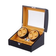 Load image into Gallery viewer, Automatic Watch Winder and Storage Box for 4 Self-Winding Watches