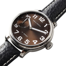 Load image into Gallery viewer, Seagull Coffee Dial White Numerals Mechanical Watch M222S - seagull-watches