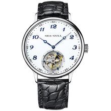 Load image into Gallery viewer, Seagull Tourbillon Mechanical Watch Alligator Leather 818.13.8809 - seagull-watches