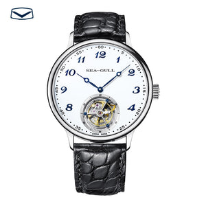 Seagull Tourbillon Mechanical Watch Alligator Leather 818.13.8809 - seagull-watches
