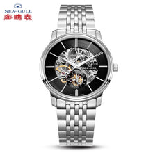 Load image into Gallery viewer, Seagull Ultra Thin 8mm Hollow Out Mechanical Watch 816.401K - seagull-watches