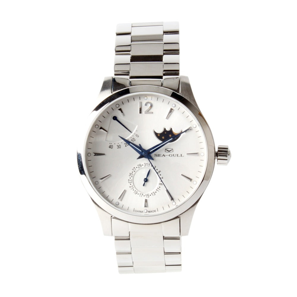 Seagull Moon Phase Automatic Watch 816.423 - seagull-watches