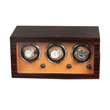 Load image into Gallery viewer, Luxury Wooden Watch Winder Display Box