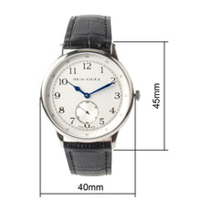 Load image into Gallery viewer, Seagull Arabic Numerals Ultra Thin 8MM Mechanical Watch D819.621 - seagull-watches