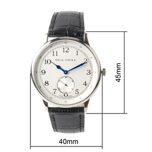 Seagull Arabic Numerals Ultra Thin 8MM Mechanical Watch D819.621 - seagull-watches