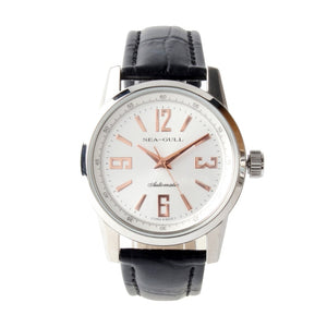 Seagull Genuine Leather Band Automatic Watch D819.437 - seagull-watches