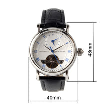 Load image into Gallery viewer, Seagull Dual Time Zone GMT Guilloche Automatic Watch 819.11.6040 - seagull-watches