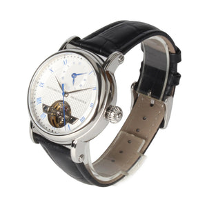 Seagull Dual Time Zone GMT Guilloche Automatic Watch 819.11.6040 - seagull-watches