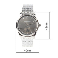 Load image into Gallery viewer, Seagull Ultra Thin 9MM Exhibition Back Mechanical Watch D816.448 - seagull-watches