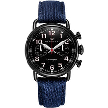 Load image into Gallery viewer, Seagull PVD Mechanical Chronograph Military Watch 811.23.5025H - seagull-watches