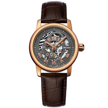 Load image into Gallery viewer, Seagull Rose Gold Case Hollow Out Automatic Watch 519.21.5042LK - seagull-watches