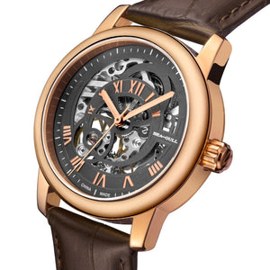 Seagull Rose Gold Case Hollow Out Automatic Watch 519.21.5042LK - seagull-watches