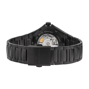 Seagull Date PVD Black Automatic Sports Watch 816.356H - seagull-watches