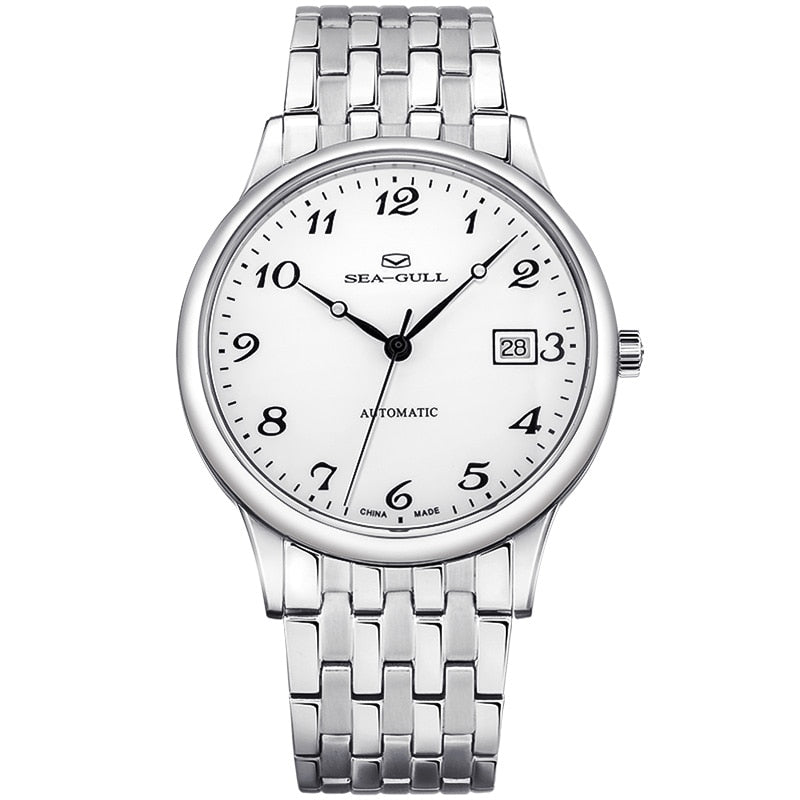 Seagull Classic Auto Date Automatic Watch 816.13.1020 - seagull-watches