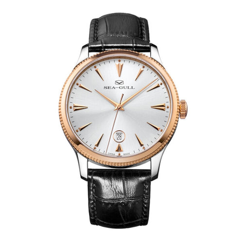 Seagull Ultra Thin 9mm Rose Gold Case Automatic Watch 219.12.1003 - seagull-watches