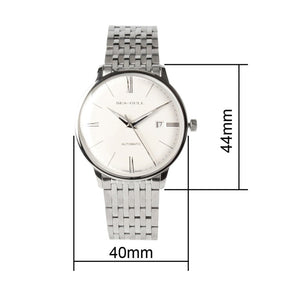 Seagull 10mm Thin Anti-Glare Domed Automatic Watch 816.519 - seagull-watches