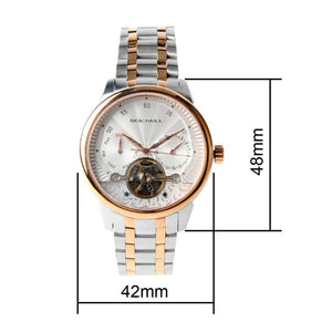 Seagull Guilloche Mechanical Watch 217.414 - seagull-watches
