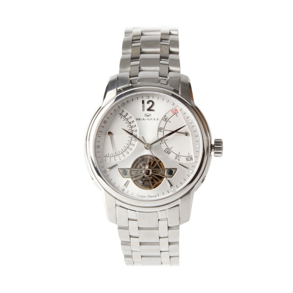 Seagull Retrograde Automatic Watch 816.425 - seagull-watches