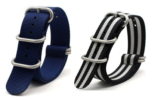 Heavy Duty Nylon Nato Strap - seagull-watches