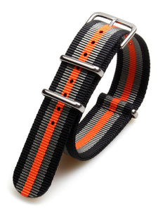 Colorful Nato Zulu Nylon Sport Strap 5 pack - seagull-watches