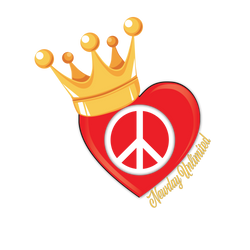 Our logo represents Peace & Love, Kings and Queens!