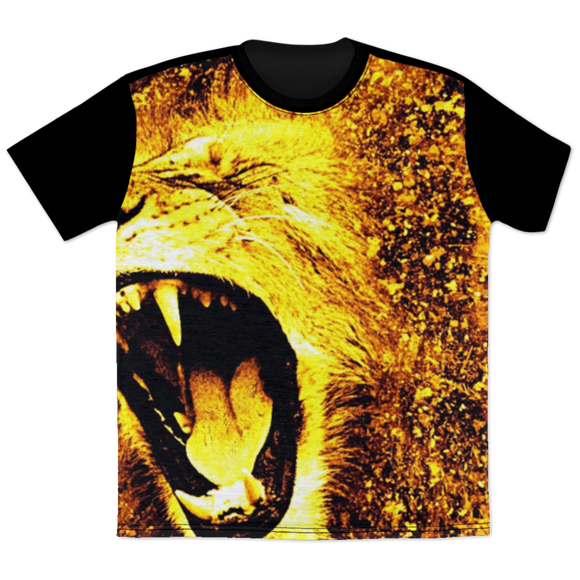 King of the Jungle All Over Print T-Shirt