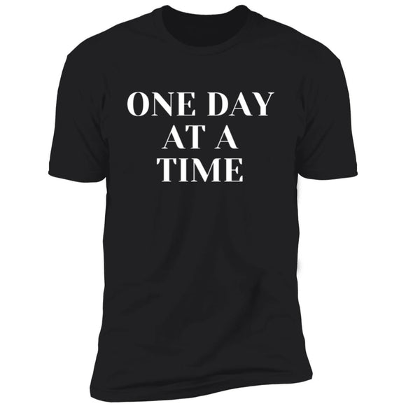 One Day At A Time Mens Short Sleeve T-Shirt