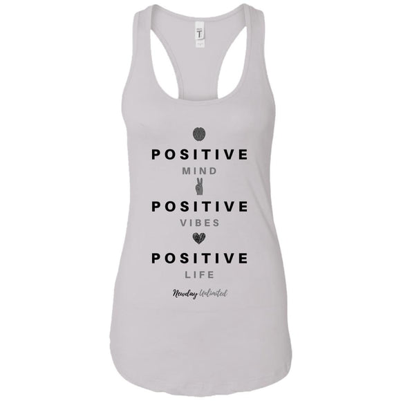 Next Level Ladies' Premium Mind, Vibes, Life Racerback Tank - Newday Unlimited