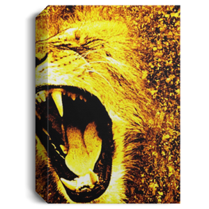 King of the Jungle Deluxe Portrait Canvas 1.5in Frame