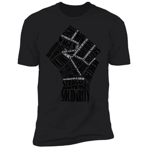 Fist Of Solidarity Mens T-Shirt - Newday Unlimited