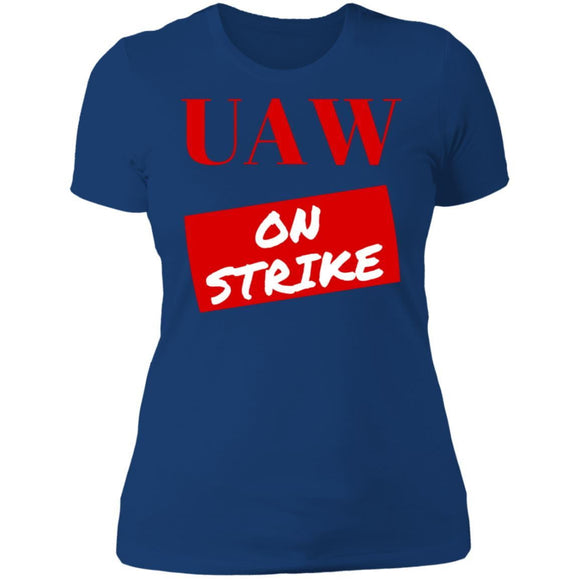 On Strike Ladies' T-Shirt - Newday Unlimited