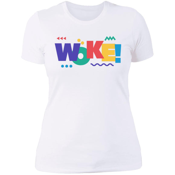 WOKE Queens Next Level SL T-Shirt