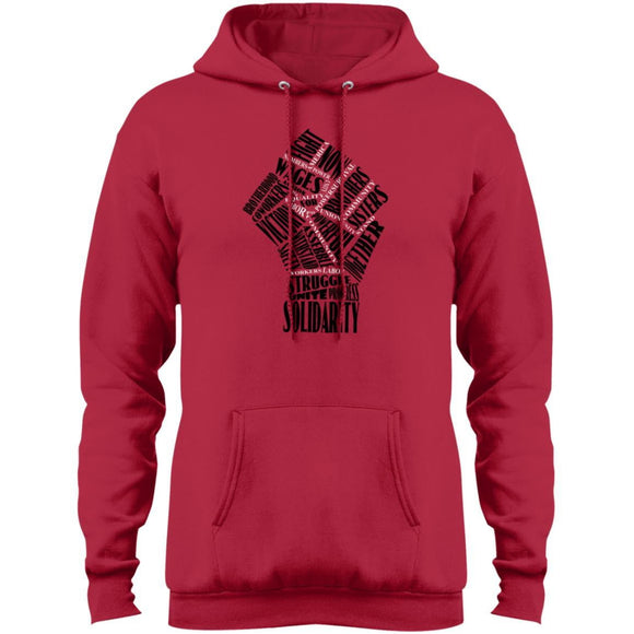 Fist Of Solidarity Pullover Hoodie - Newday Unlimited