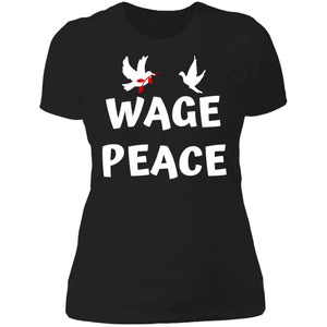 Wage Peace Queens Next Level SL T-Shirt