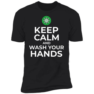 Wash Your Hands Premium Short Sleeve T-Shirt