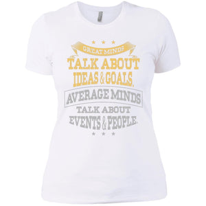Next Level Ladies' Great Minds T-Shirt - Newday Unlimited