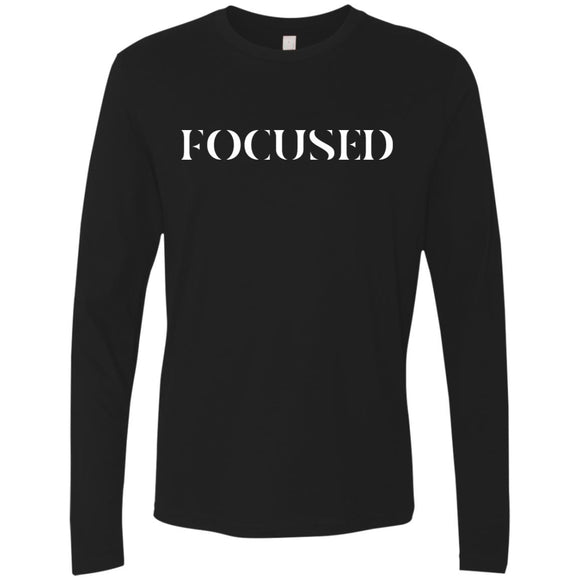 Focused Unisex LS T-Shirts