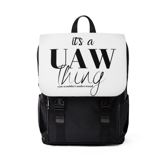 It's A UAW Thing Unisex Casual Shoulder Backpack